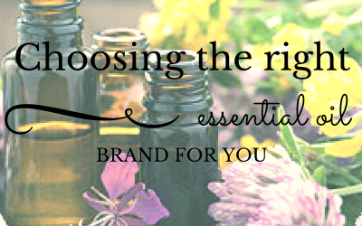 Choosing The Right Essential Oil Brand For You