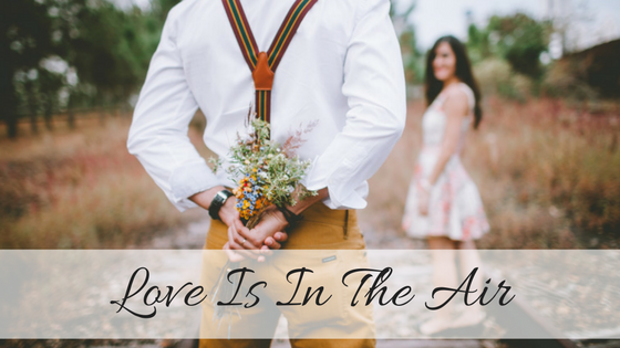 Love Is In The Air With Essential Oils